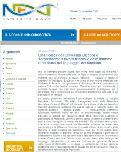 Comunit%C3%A0 next 239x300 - Rassegna Stampa