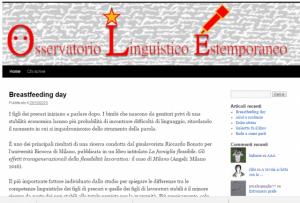 Oservatorio Linguistico Estemporaneo 300x203 - Rassegna Stampa